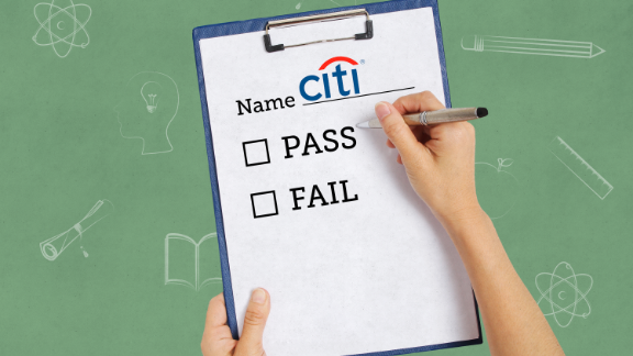 citigroup pass fail