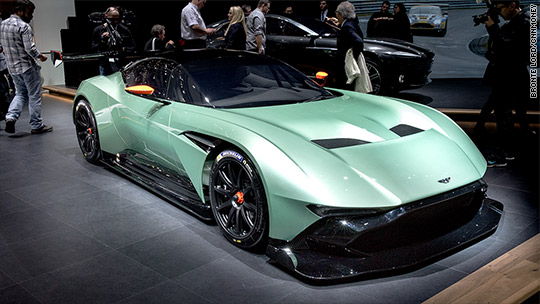 In Photos: Hot rides from Geneva Car Show