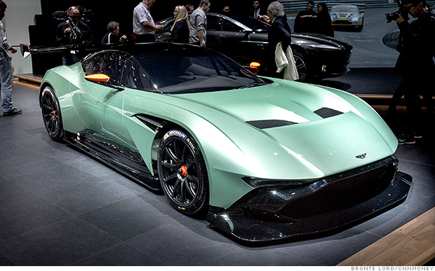 Cool cars from the 2015 Geneva Motor Show