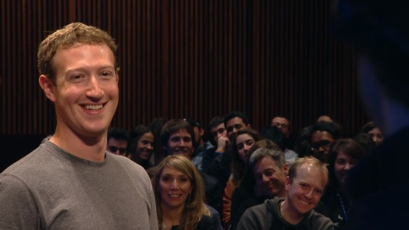 Mark Zuckerberg MWC15 close up