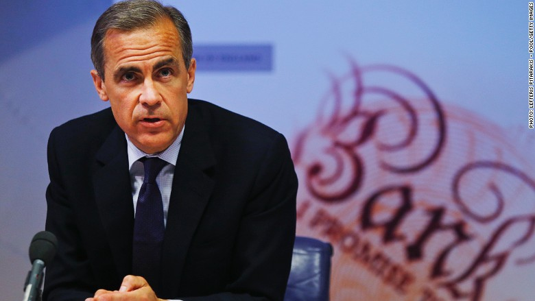 bank of england carney