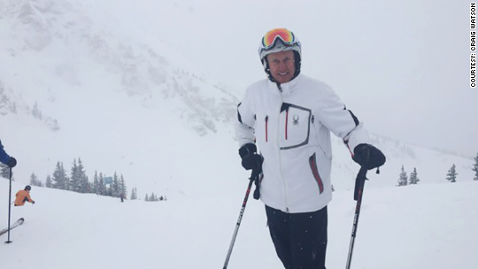 From suits to slopes: Retiree as ski instructor