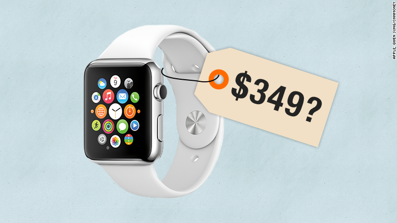 apple watch known price 349