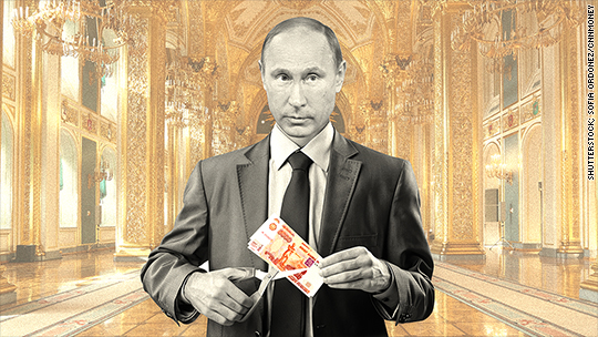 Russian austerity: Putin fires 110,000 officials