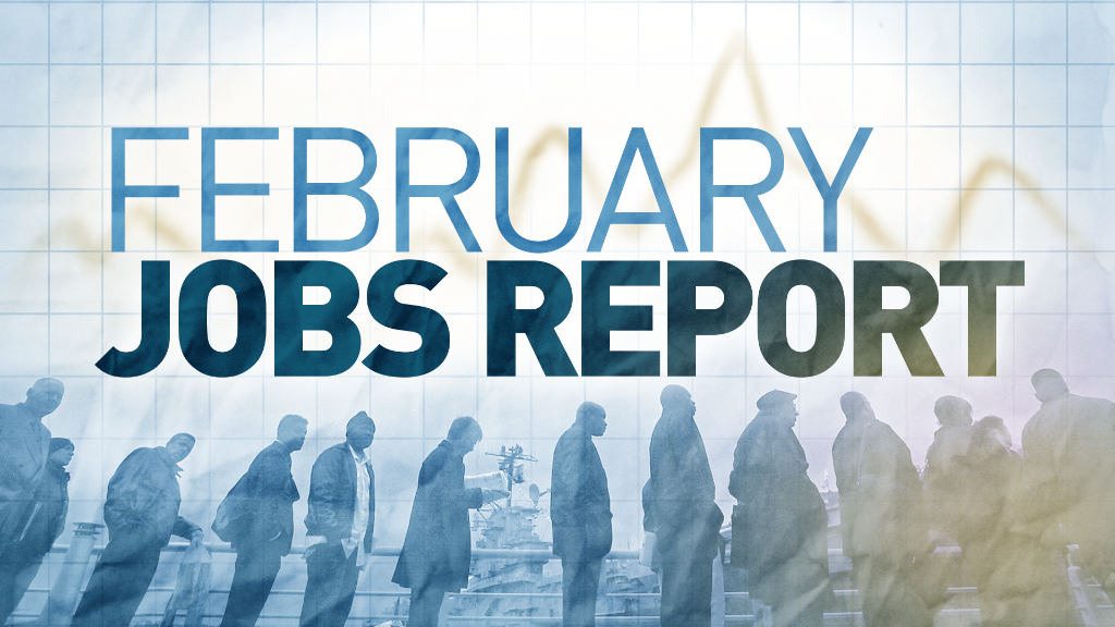 U.S. economy adds 295,000 jobs in February