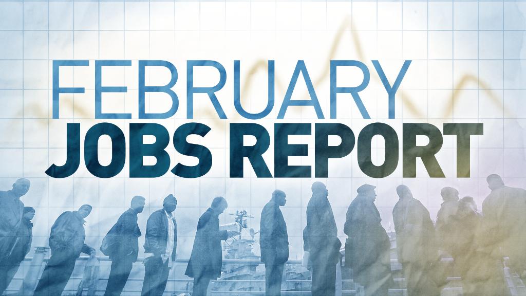 U.S. economy adds 242,000 jobs in February