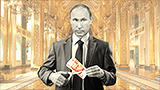 Putin gets tough and slashes own salary