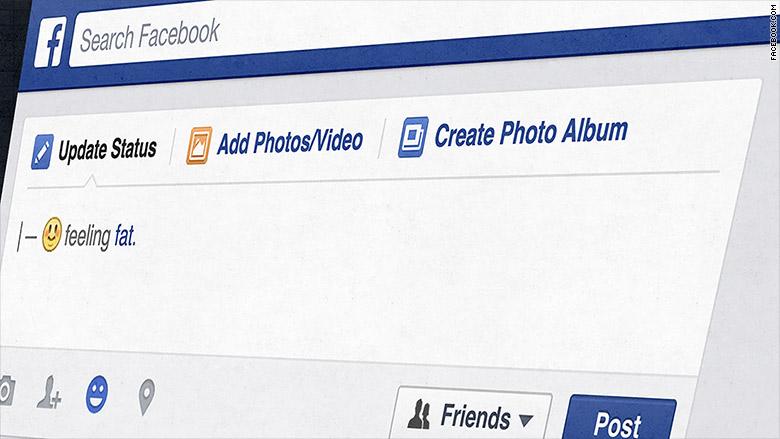 """Facebook ya no dejará sentirse """"gordo"""""""