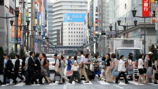 Many Japan millennials expect to work till death