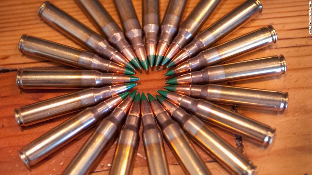 ATF proposing to ban armor-piercing bullet