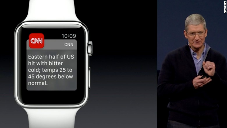 apple watch cnn