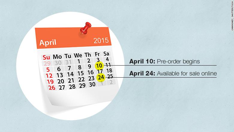 apple watch dates confirmed