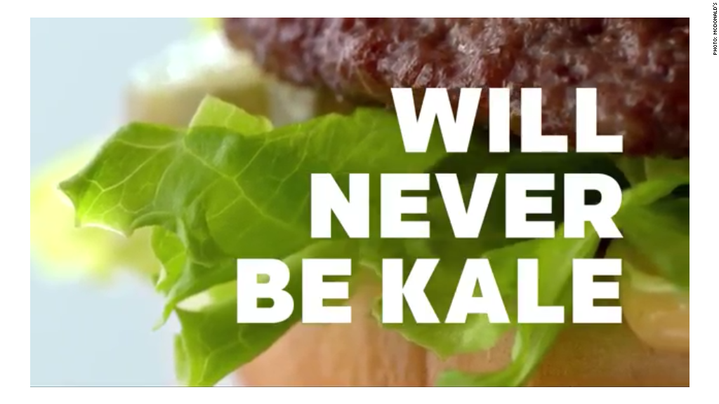 Want kale with that Big Mac?