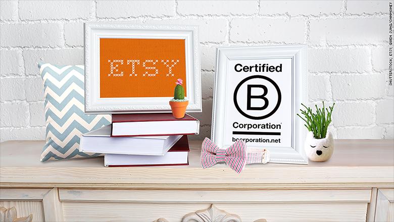 etsy b corporation