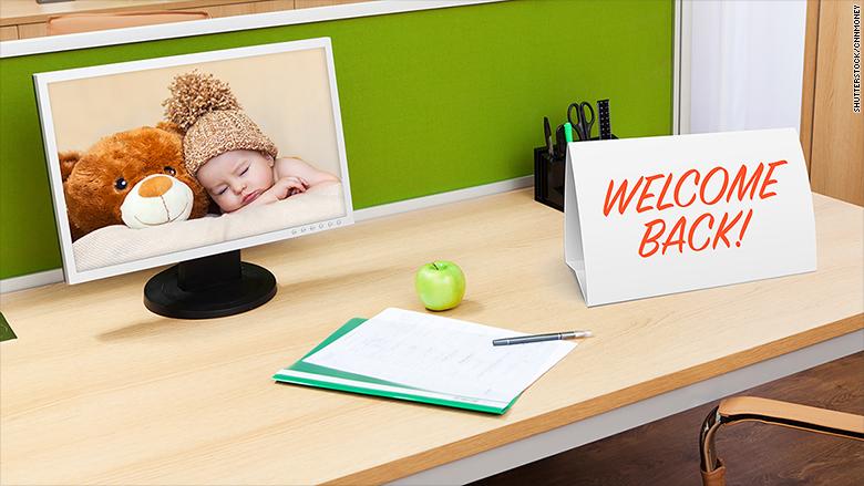 maternity leave return
