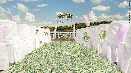 New York City weddings cost $77,000