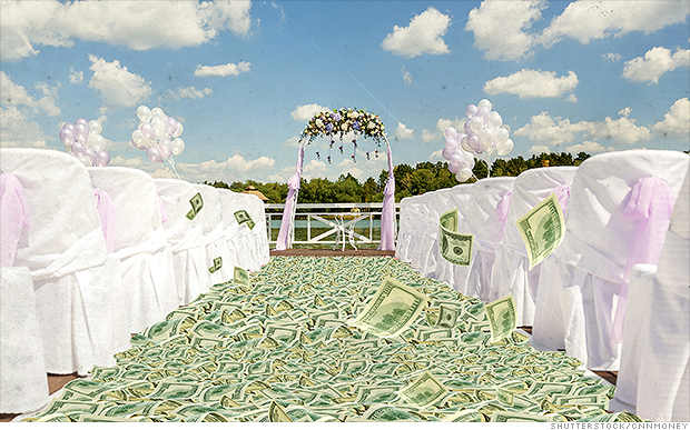 The average wedding now costs more than 30000 Mar 12