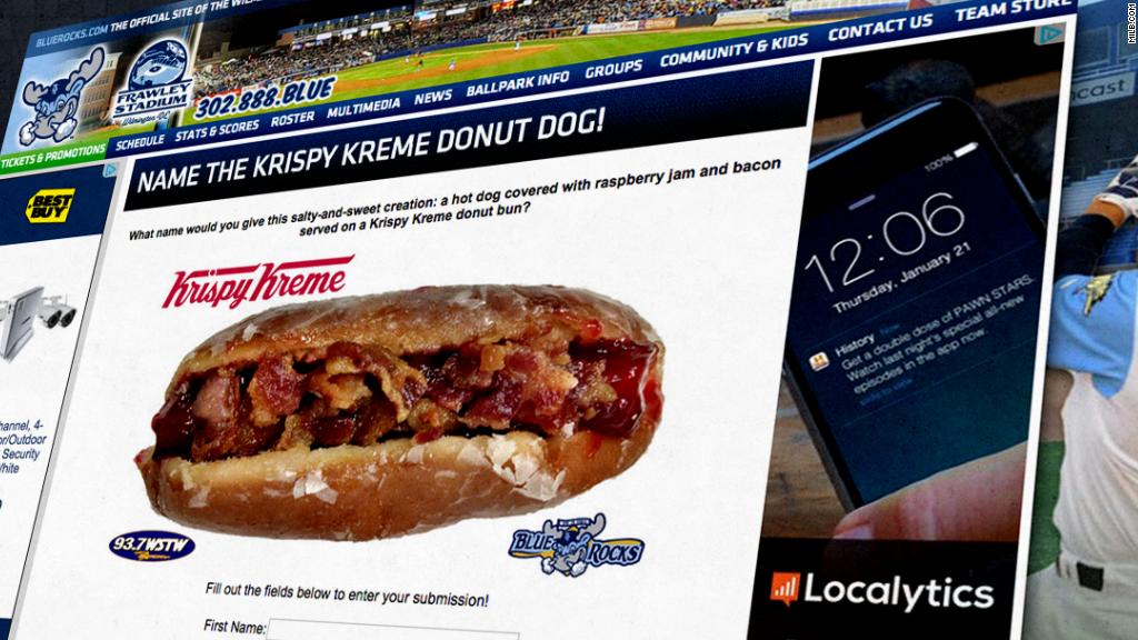 El 'hot dog' de dona y tocino de Krispy Kreme: ¿delicioso o asqueroso?