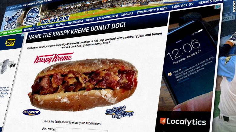 krispy kreme bacon donut