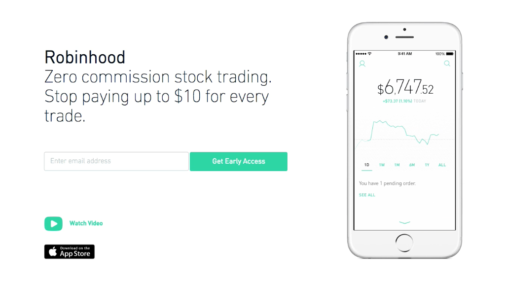 Robinhood lets everyone trade for free