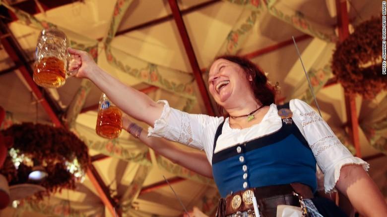 germany beer waitress