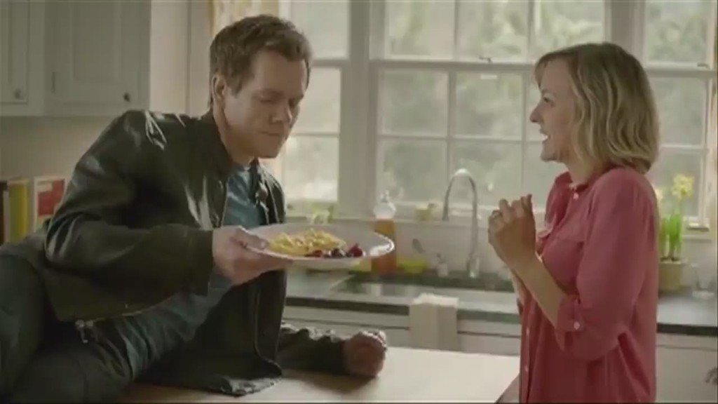 Kevin Bacon knows a little something about eggs
