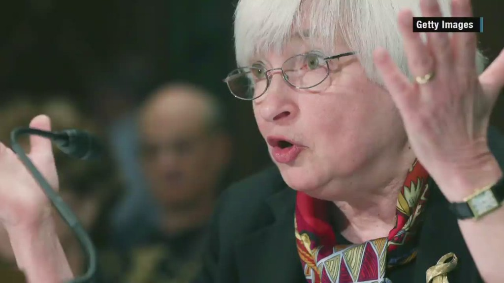 Janet Yellen in 83 Seconds
