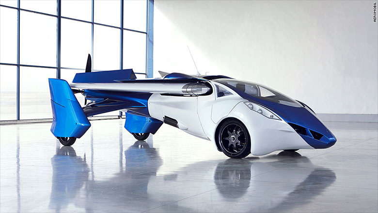 This Flying Car Will Be Ready For Take Off In 2017