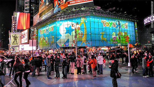 Flagship Toys R Us Store In Times Square Is Closing Mar - Map to toys r us