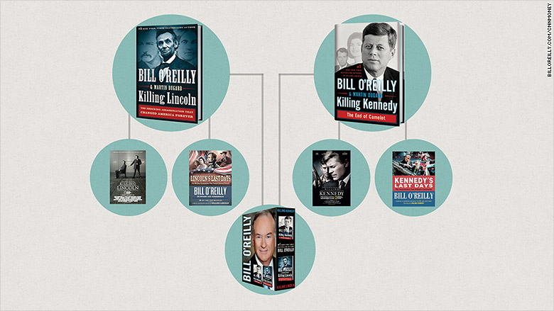 bill oreillys books