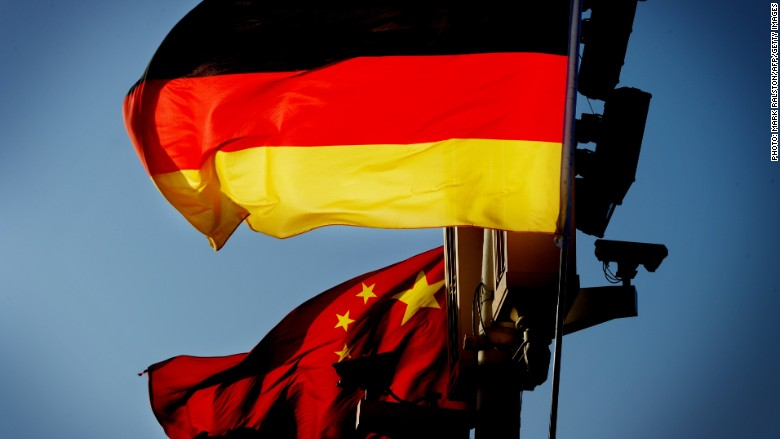 german exports suffer worst drop in six years as china slows. Black Bedroom Furniture Sets. Home Design Ideas
