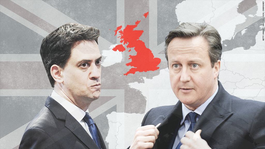 Economy at the heart of UK election