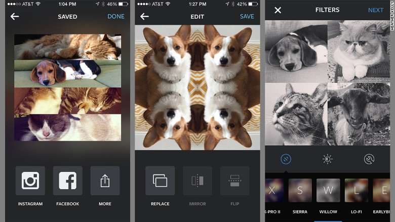 Nueva app te permite crear collages en Instagram