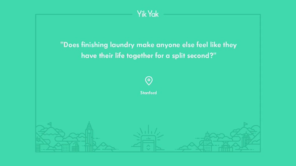 Yik Yak: The anonymous app sweeping college campuses