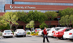 University of Phoenix has lost half its students