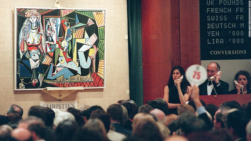 Picasso painting set to break records