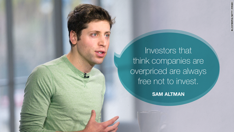 tech bubble sam altman