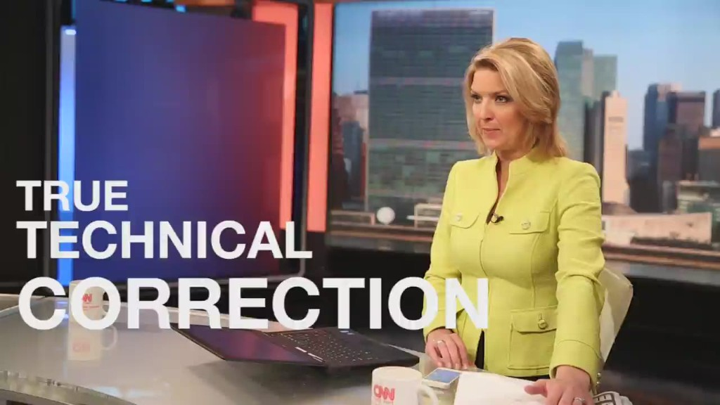 Is it time for a correction?