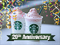 Starbucks sells Birthday Cake Frappuccino to celebrate Frap's 20th