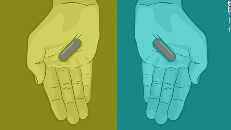 f8 blue pill red pill