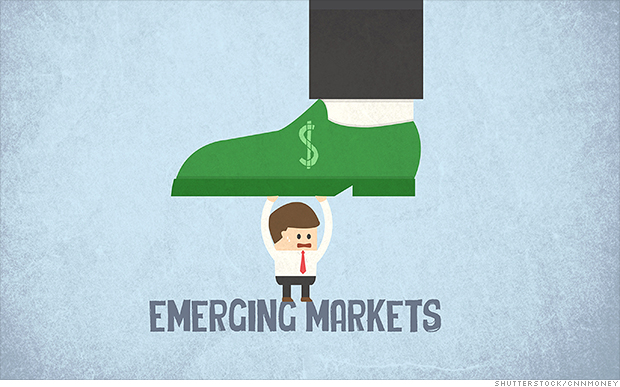 Biggest loser from the strong dollar: Emerging Markets