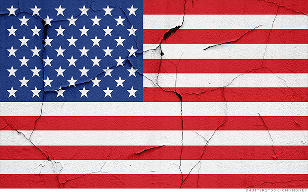 The U.S. economy is showing cracks