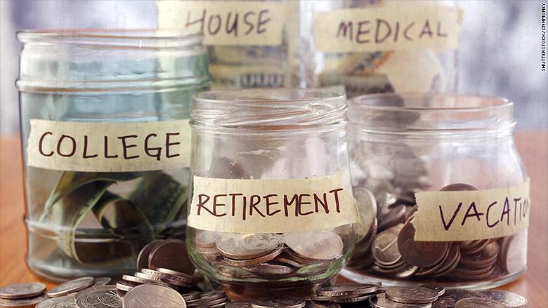 La mitad de los estadounidenses no ahorra casi nada