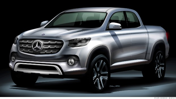 Mercedes-Benz to make a pickup truck