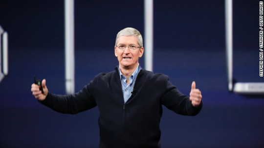 Tim Cook 'disappointed' in Indiana's anti-gay law