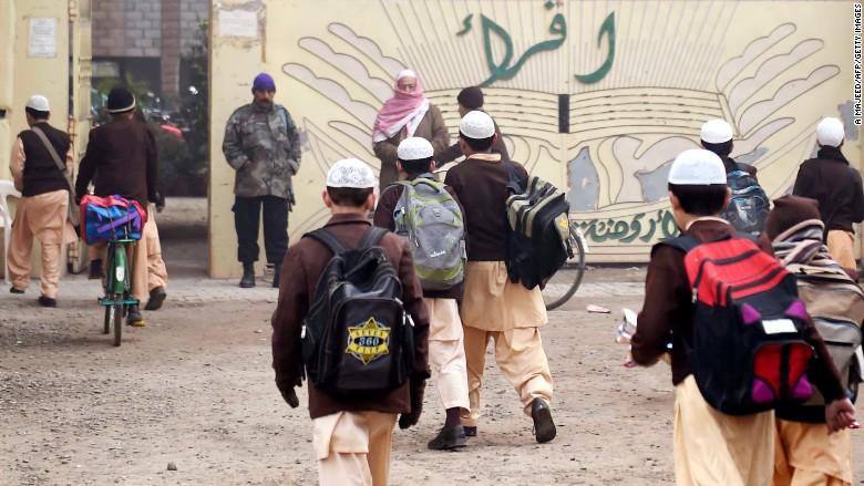 pakistani school backpacks