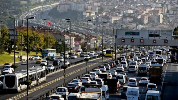 traffic Istanbul