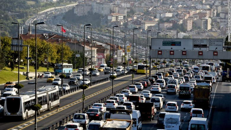 Bucharest The World S Worst Cities For Rush Hour Traffic
