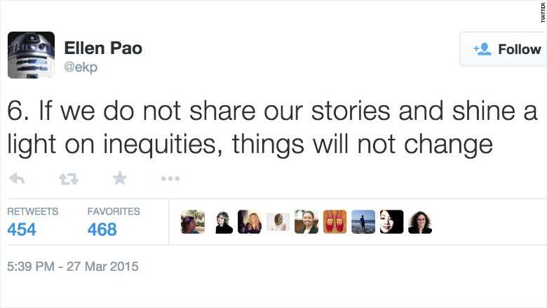 ellen pao tweet