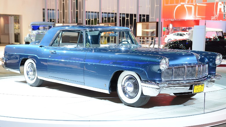 1956 lincoln continental mark II & Fordu0027s big Lincoln Continental is coming back - Mar. 30 2015 markmcfarlin.com